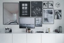 HOME: Art wall