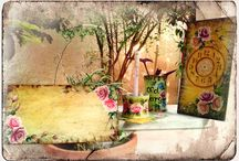 Folk art painting & Decoupage by me / My work