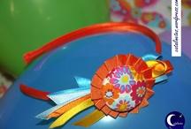 Diademas Handmade / Una selección de nuestras variadas diademas.   http://catalinetes.wordpress.com/