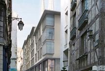 DJ / Agence A.Yedid - Bayonne / Ilot de la Monnaie / Bayonne / Architecte: Adam Yedid / Chef de projet: Delphine Jaoul #delphinejaoul #architecte #Bayonne