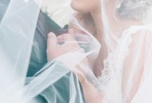 White wedding ideas / Dresses, hair, shoes, accessories / by atraceofblue