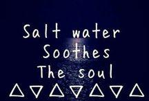 Salty water & sandy toes. / by Amanda Dixon