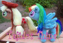 Mi Pequeño Pony - My Little Pony AMIGURUMI