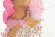 Pink & Gold / Art