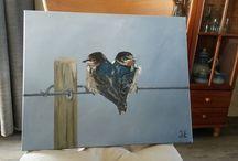 Schilderijen / Zelf gemaakt