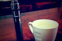 Coffee and E-cigarette