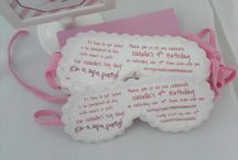 INVITES and PAPER cutouts... too cute!