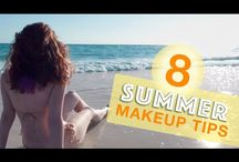 Summer makeup tutorials, tips, and ideas. / Rough winter? Get ready for summer with these beauty tips and ideas.