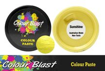 CB Colour Pastes / CB Colour Pastes are a super smooth, creamy and shimmery texture paste that can be used on paper, card stock, canvases, and many other surfaces.