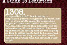Deduction and manipulation