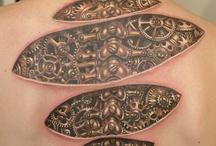 Tinta / Tattoo canvas
