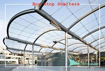 Bus Stop Shelters / Here comes Fab Structure that brings forth newly designed Bus Stop Shelters in multiple of colours, sizes, length and designs.  http://www.fabstructure.in/bus-stop-shelters.html