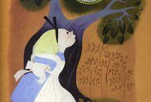 Alice in W:Art/Mary Blair / Alice in wonderland (illustrator/Disney)