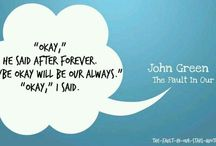 """""""The Fault in Our Stars"""" / A homage to John Green's novel that stole my heart. Soon to be a movie!"""