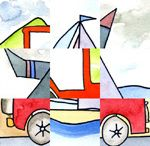 French storytime: transports (methods of transportation)