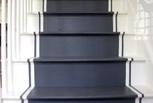Ceilings & Painted Stairs / styletomoveblog.blogspot.ca