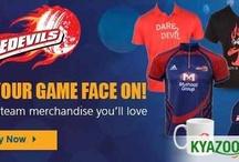 KyaZoonga.com: Buy official Delhi Daredevils Merchandise