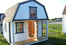 Children's Playhouses / Playhouses for your children or grandchildren to play and grow in. See all our building designs at: http://www.betterbarns.net