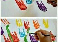 pittura bimbi