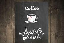 Coffee board ideas