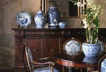Blue & White Ginger Jars