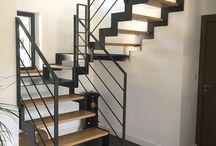 Escalier rembarde