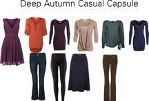 Fashion for Autumn Colours