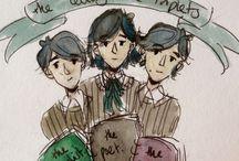 { OC | Buchanan Triplets }