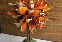 Naranjas secas manualidades