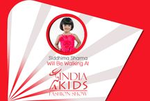 Kids Walking at India Kids Fashion Show / Find out the kids who are going to walk at India Kids Fashion Show.