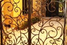 diseño de puertas para jardin