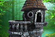 Fairy castle stove