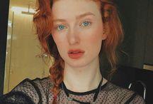 Redhead makeup