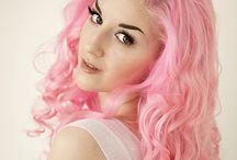 pink hairdoos
