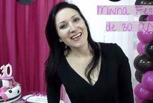 Minha festa de 30 Anos! / Veja + Inspirações e Dicas de decoração no blog!  www.construindominhacasaclean.com