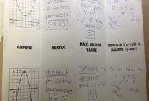 Quadratics / stuff to teach quadratics with