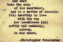 christopher poindexter quotes / by Lilly L