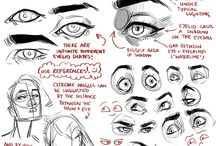 Eyes / Eyes, and how to draw them. Obvious references