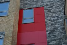 Woodmansterne School / rainscreen, cladding & fabrications