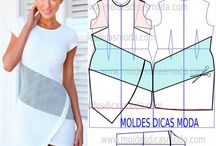 Modelli di vestiti con cartamodello