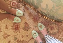 Chatelles x Le Meurice ...around the world / Discover the collaboration between Le Meurice & Chatelles! This lovely pair of slippers travels the worlds, join the fun!