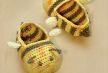 Crocheted slippers/shoes