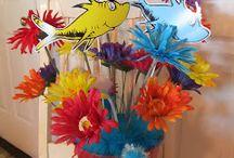Dr Seuss flowers