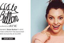 Essie Button / Essie Button exclusively at eLUXE
