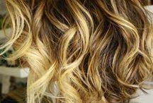 ombre with blonde