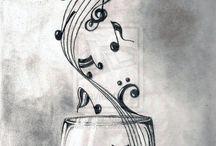 tattoo saxofoon