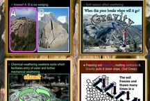 Weathering, Soil, Soil Conservation, Ice Ages, Glaciers Unit / Teach an awesome unit in earth science with these lessons   https://www.teacherspayteachers.com/Product/Weathering-Soil-Science-Erosion-Soil-Conservation-Ice-Ages-Glaciers-Unit-110228