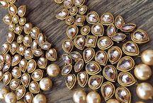 Earrings glass kundan like order on
