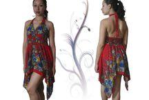 vestidos / Importados de la India y Thailandia