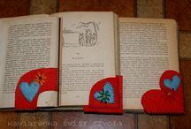 Walentynki - zakładka do książki